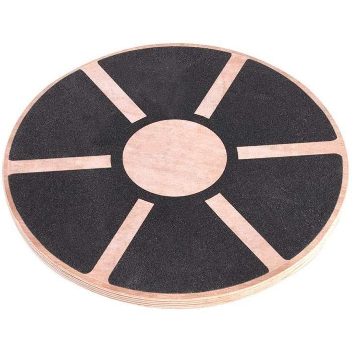PLANCHE D'EQUILIBRE Planche d'-eacute,quilibre en bois ronde,planche d'entra-icirc,nement pour d-eacute,butants de yoga, planche246