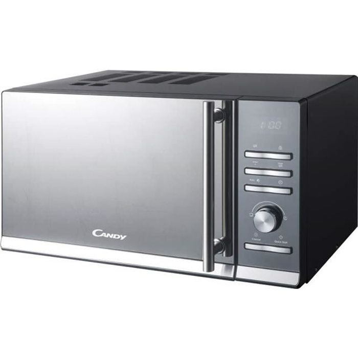 Candy cmge25bs micro-ondes avec grill, 25 litres, noir