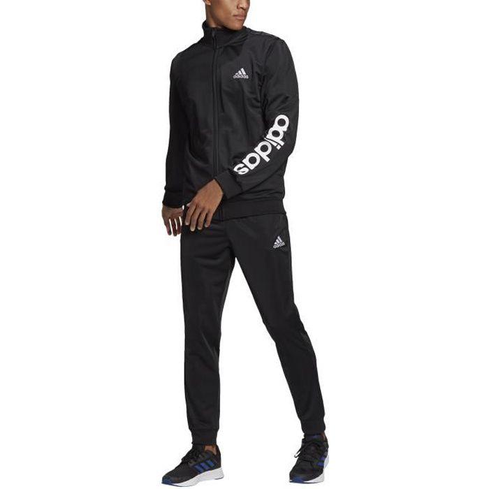 Adidas Survêtement pour Homme Primegreen Essentials Linear Logo Noir