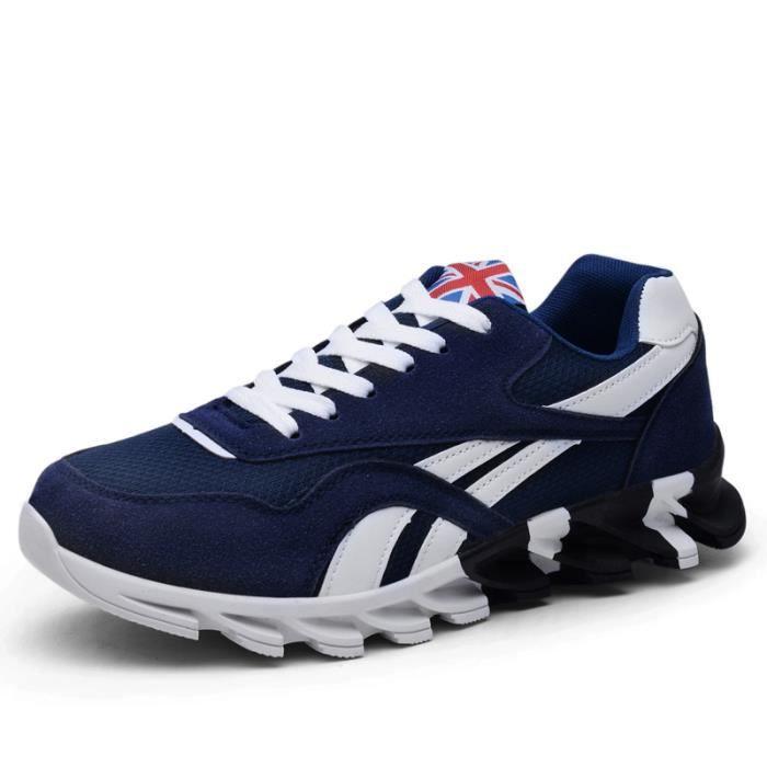 BASKETS MAX Homme - Running Chaussures de sport Grande taille - bleu MR™