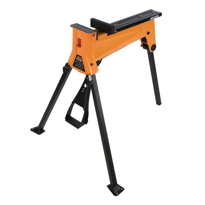 Triton 327323 Étau/tréteau portable SuperJaws SJA100E, Orange