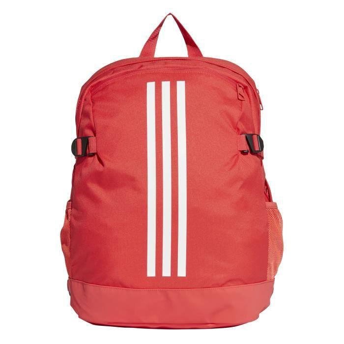 Sac à dos adidas 3 Stripes Power moyen format rouge corailblancblanc M