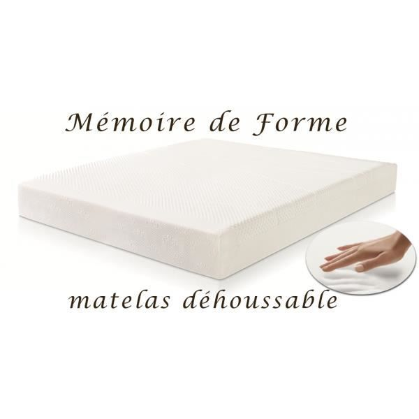 matelas m moire de forme 160 x 200 cm sensus achat vente matelas cdiscount. Black Bedroom Furniture Sets. Home Design Ideas