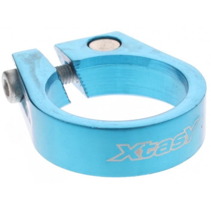 SELLE - TIGE DE SELLE Collier de selle SCI-105 31,8 mm bleu