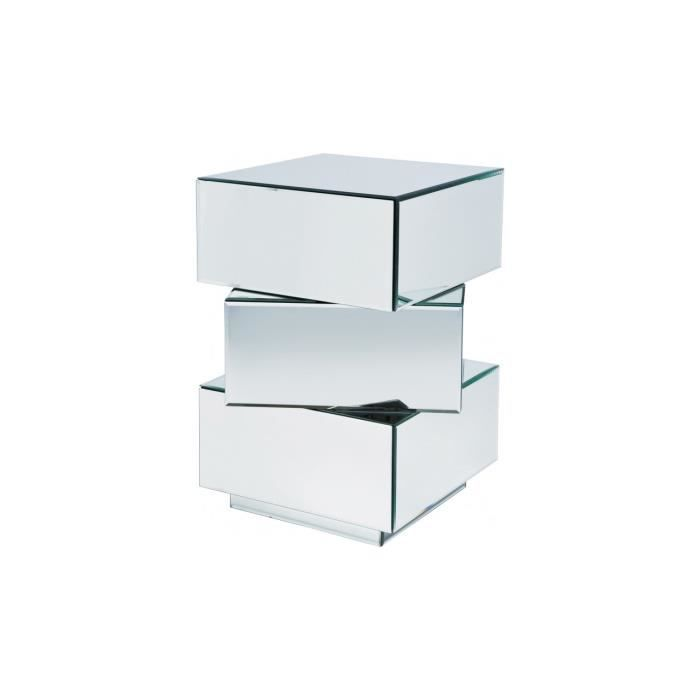Commode cubo petit mod le 3 tiroirs kare design achat vente chevet commod - Table de chevet a suspendre ...