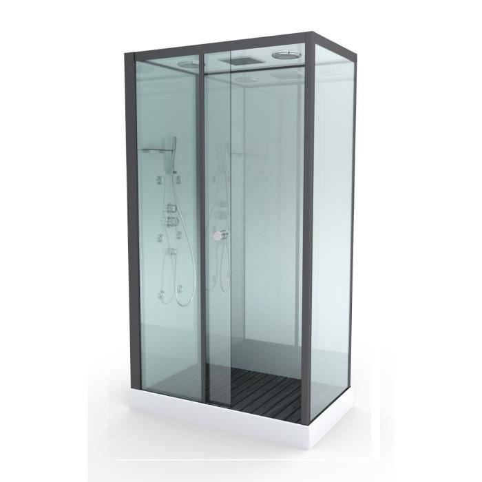 aurlane cabine de douche hydromassante rectangulaire. Black Bedroom Furniture Sets. Home Design Ideas