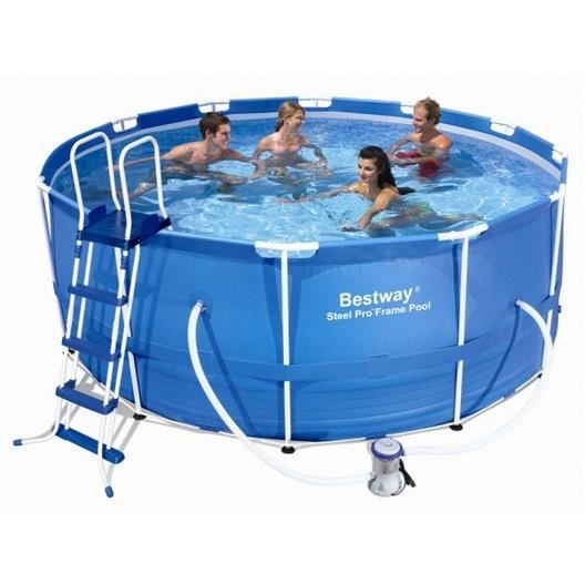 Kit piscine tubulaire ronde steel frame pool 36 achat for Piscine tubulaire occasion