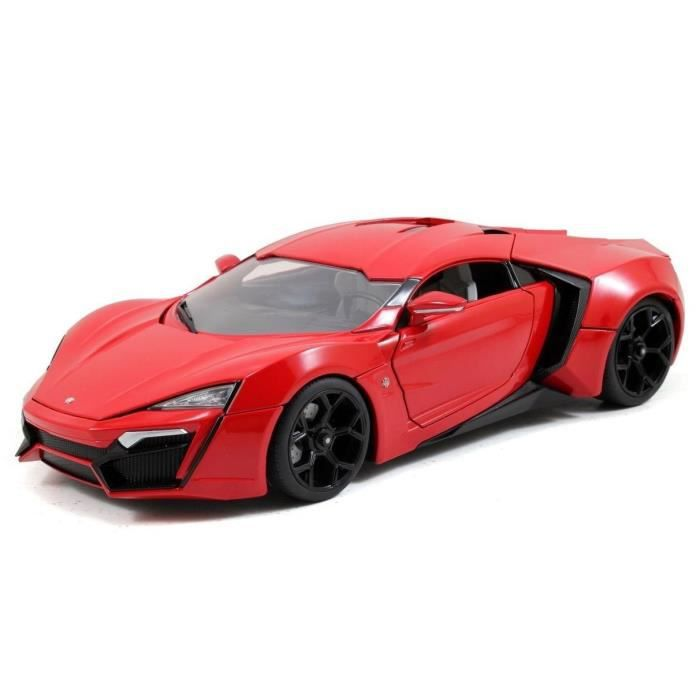 voiture lykan hypersport fast and furious 7 au 1 18 achat vente voiture camion cdiscount. Black Bedroom Furniture Sets. Home Design Ideas