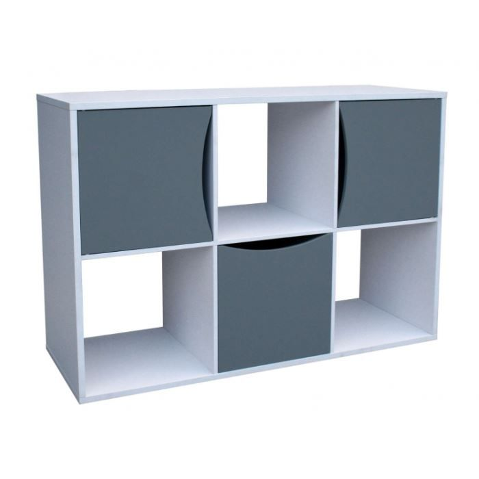 Meuble 6 cubes achat vente meuble tag re meuble 6 for Meuble cube 6 cases