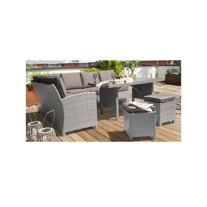 Salon de jardin Faro - Achat / Vente ensemble table et ...