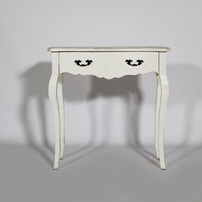 console galb e baroque blanc achat vente console. Black Bedroom Furniture Sets. Home Design Ideas