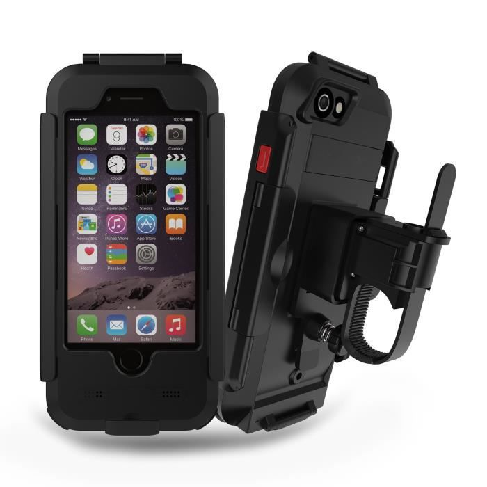 Coque iPhone 6S étanche Anti-choc Antipoussière Anti neige 360 ...