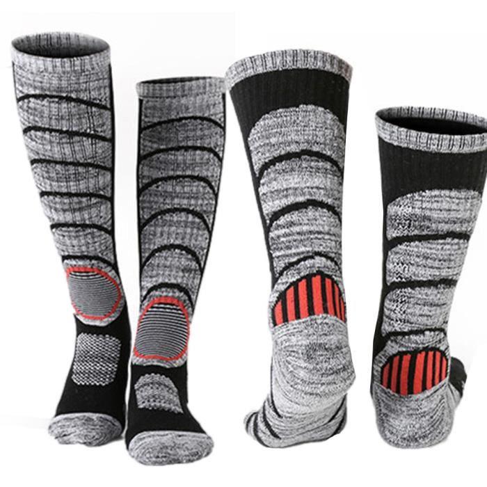 4 Paire Homme Thermal Ski Chaussettes Top Qualité Longue Taille UK 6-11 Eur 39-45