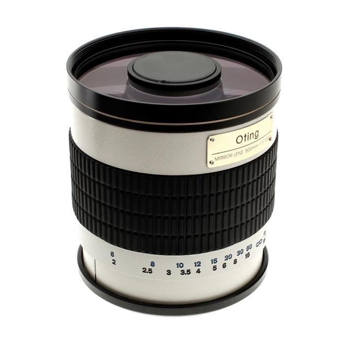 OBJECTIF Téléobjectif 500mm F 1:6.3 pour Sony Alpha (montur