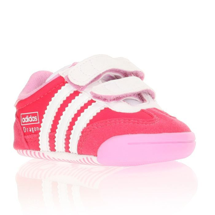 1f67a30b488e2 ADIDAS Baskets Learn2walk Dragon Bébé Rose et blanc - Achat   Vente ...