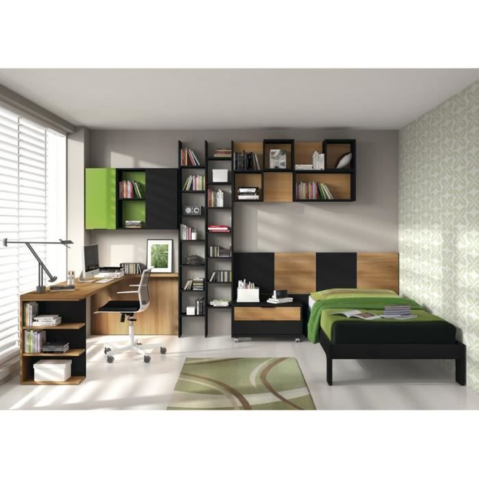 chambre boga golf lit bureau et biblioth que achat vente chambre compl te chambre boga golf. Black Bedroom Furniture Sets. Home Design Ideas