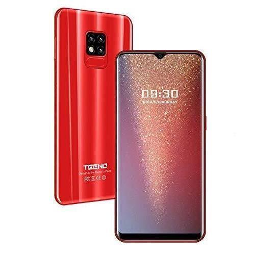 "SMARTPHONE TEENO Smartphone Portable Débloqué 4G 6.2"" HD écra"
