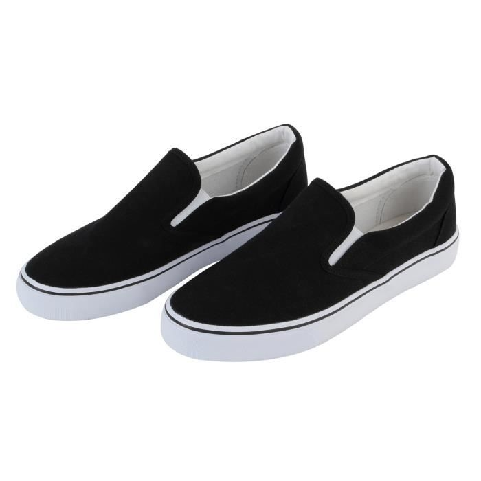 Womens Canvas Slip On Fashion Sneaker Skate Shoe TJ4AL Taille-37 UChd3zWdRX