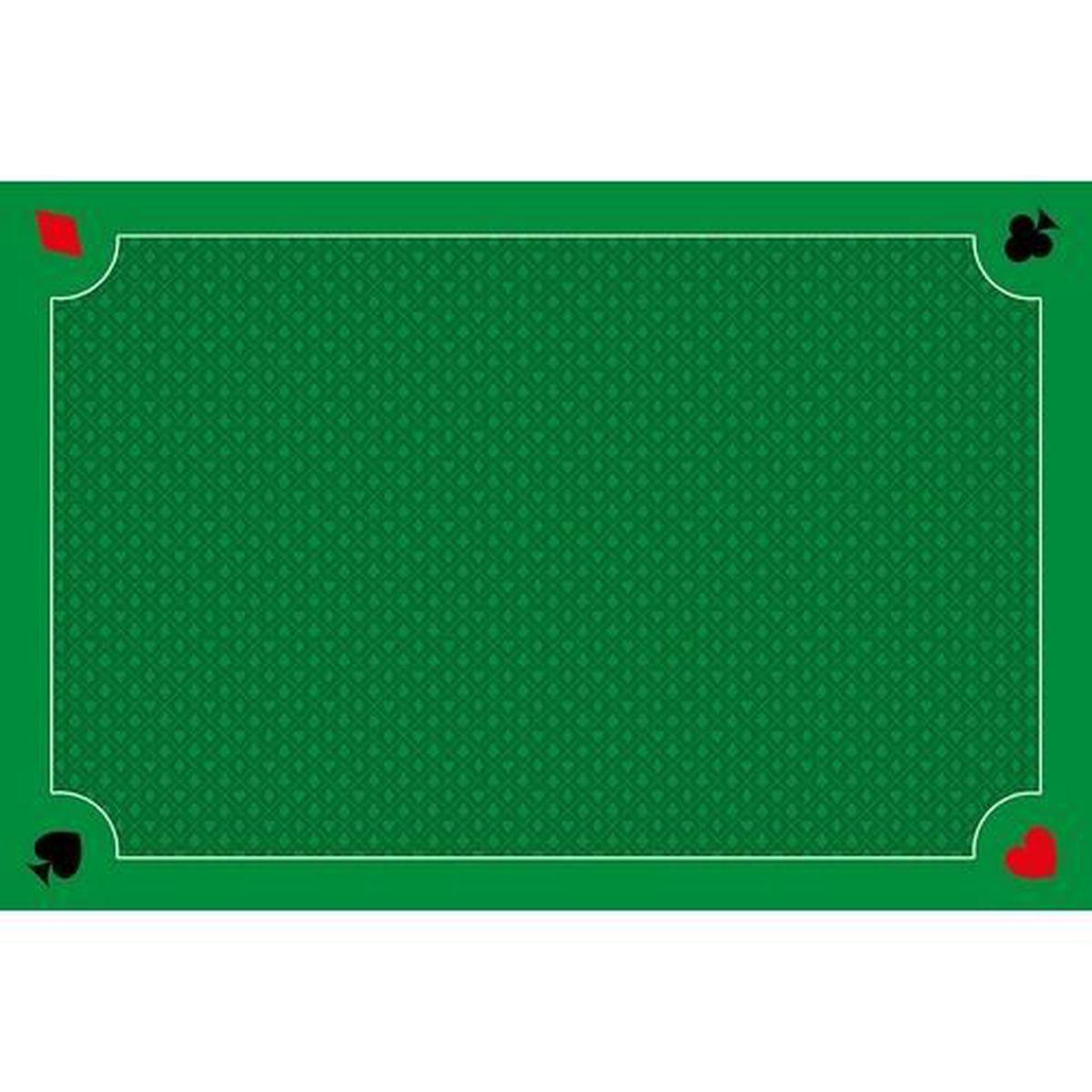 tapis de carte belote Tapis de belote vert classique   Fabrication Française   Achat
