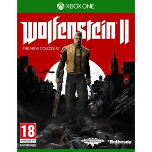 JEUX XBOX ONE Wolfenstein II The New Colossus Jeu Xbox One