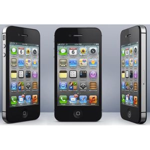 iphone 4s achat vente t l phone portable iphone 4s pas cher soldes cdiscount. Black Bedroom Furniture Sets. Home Design Ideas
