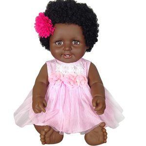 POUPÉE Jouet pour enfant poupée Reborn de fille à la peau