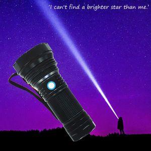 LAMPE DE POCHE SST40G2 Glare Rechargeable Super Bright Flashlight