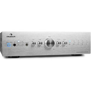 AMPLIFICATEUR HIFI auna AV2-CD708 - Ampli HiFi stereo avec 5 entrées