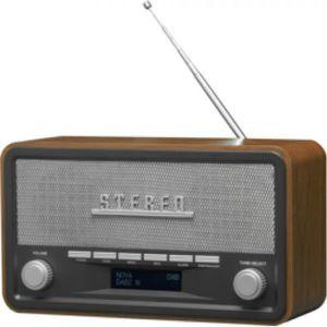 RADIO CD CASSETTE > Faits saillants:  - Design rétro chic  - Corps e