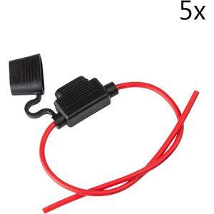 10 x Support de sauvegarde pour automobile fusibles max puissance 20 A