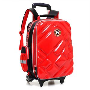 CARTABLE  Cartable à Roulettes Double roue Trolley Bag impe