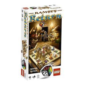 ASSEMBLAGE CONSTRUCTION Jeu D'Assemblage LEGO X5RHJ Retour Ramses 3855