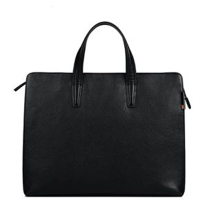 SACOCHE Porte-documents en cuir homme