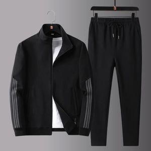 Ensemble de vêtements (Veste+Pantalon) Survêtement Homme 2 Pièces Ensemb