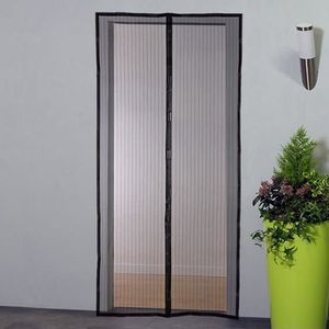 Adsorption magn/étique Pliable Acc/ès Facile Flei Moustiquaire Porte Magn/étique 110x180cm Blanc for Le Salon//Porte Patio Moustiquaire Magn/étique