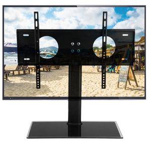 FIXATION - SUPPORT TV Meuble Télé Pied Support TV pour Télé LED Ecran PC