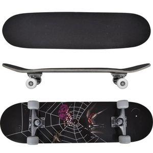 SKATEBOARD - LONGBOARD Planche à roulettes ovale Skateboard 9 feuilles Bo