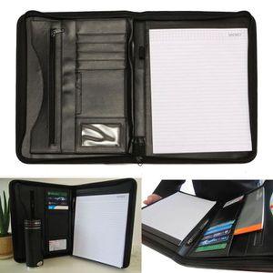 ATTACHÉ-CASE Porte Document A4 Papier Bureau Classeur Dossier P