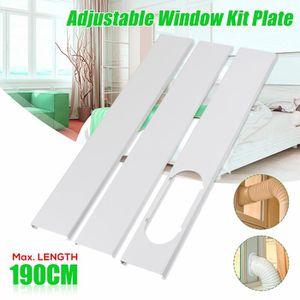 CLIMATISEUR FIXE 3PCs kit  Glissière de fenêtre 190cm Pr Mobile Cli