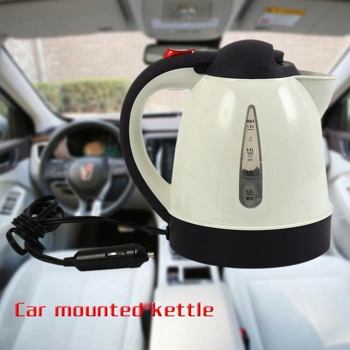 Bouilloire électrique Portable pour camping-Car, accessoires de voiture, prise allume-cigare, camping-Car de voyage, [4DD79EE]