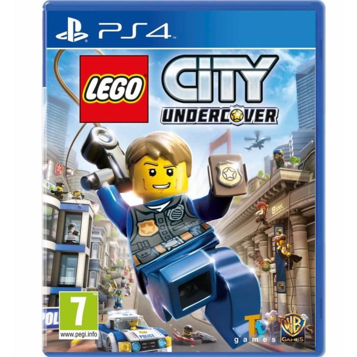 LEGO City Undercover Jeu PS4