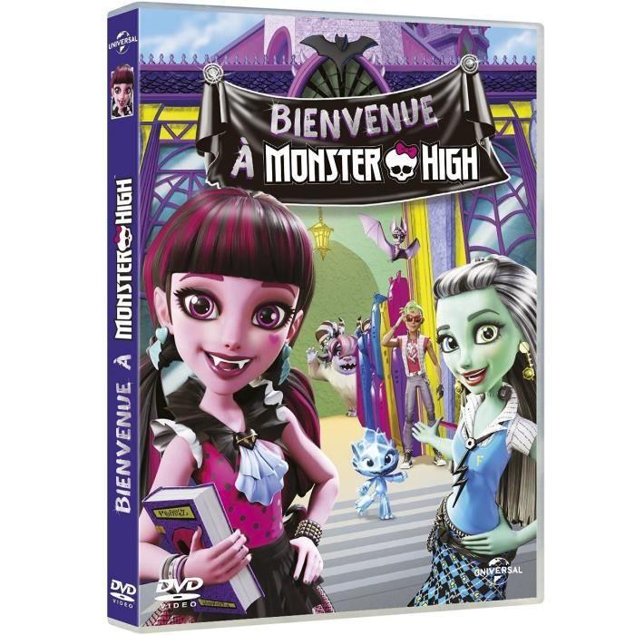 DVD Monster High : Bienvenue à Monster High