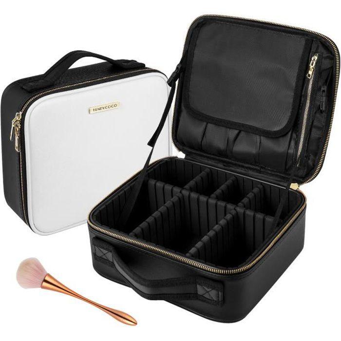 Trousse de Toilette Multifonctionnel Maquillage Sac Portable Cosmétique Sac Professionnel De Rangement Poche