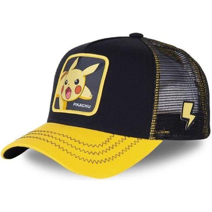 Casquette Junior Capslab Pokemon Pikachu TU Noir
