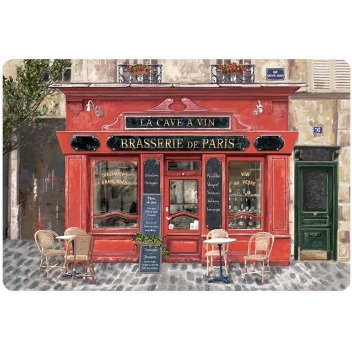 SET DE TABLE BRASSERIE DE PARIS Torchons & Bouchons ASS