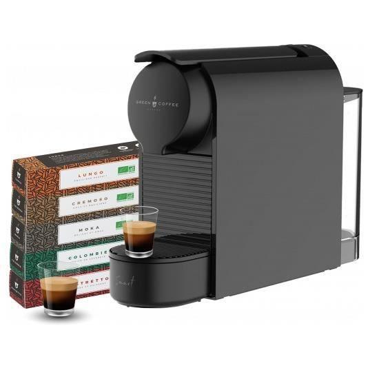 Nespresso Smart noir compatible Nespresso