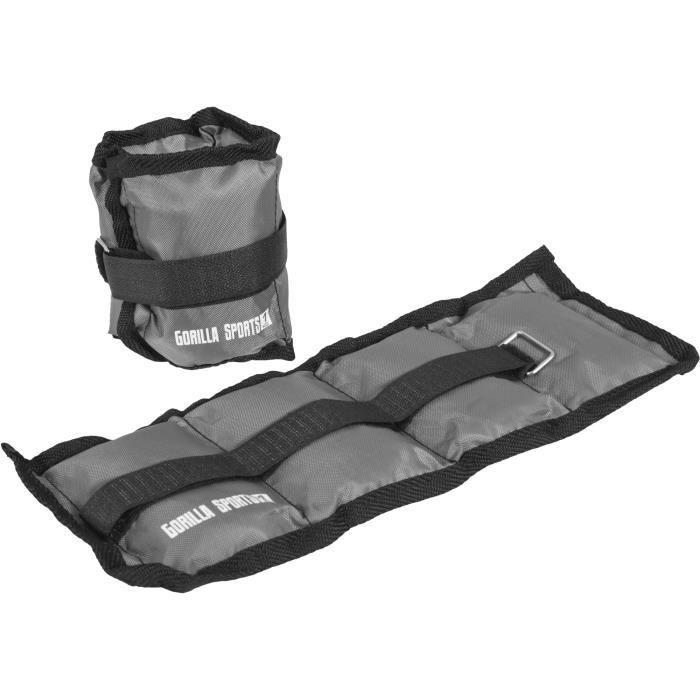 Bandes lestées pour poignets ou chevilles 2kg(2x1)