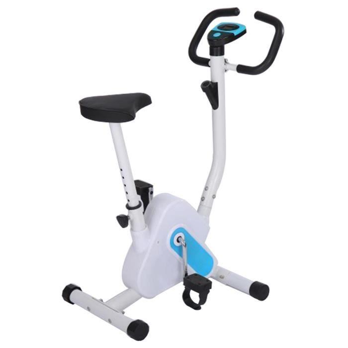 Vélo d'Appartement Fitness Pliable - 6 Niveaux Réglables Vélo d'exercice