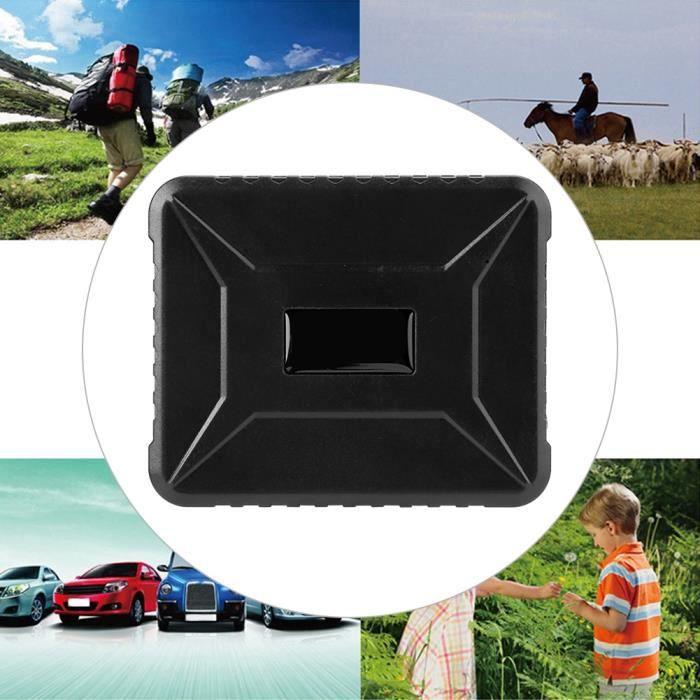 Yanjiibuy® DTK800B 6600mAh GPS Localisateur GSM GPRS Dispositif suivi en temps réel pour moto de voiture alarme de vibration -YNJ