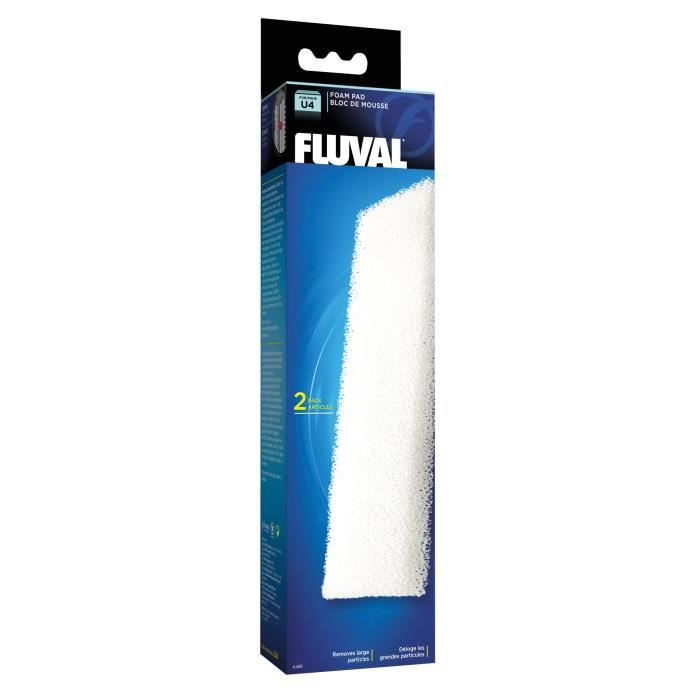FLUVAL 2 blocs de mousses A480 - Pour aquarium